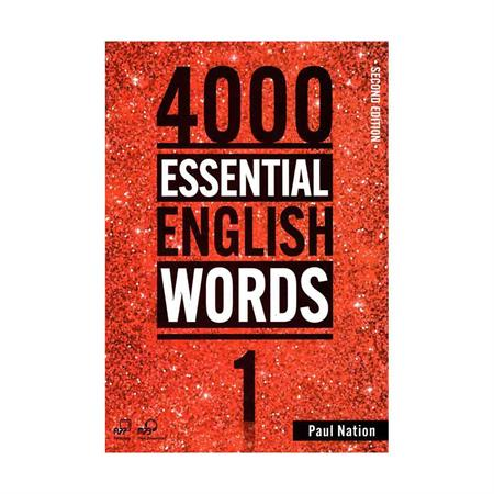 خرید کتاب 4000Essential English Words 1