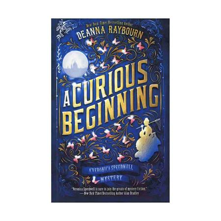 خرید کتاب A Curious Beginning - Veronica Speedwell 1