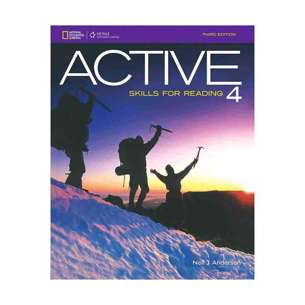 خرید کتاب ACTIVE Skills for Reading 4  third edition