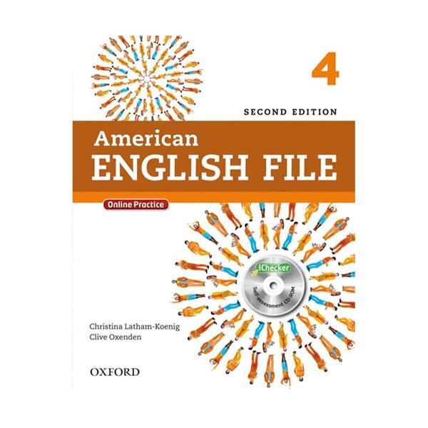 خرید کتاب  (American English File 2nd 4 (SB+WB+CD