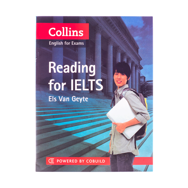 خرید کتاب Collins English for Exams Reading for Ielts
