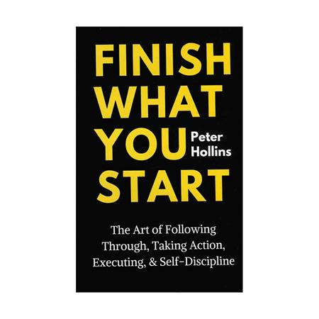 خرید کتاب Finish What You Start