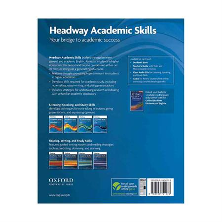 Headway-Academic-Skills---Listening---Speaking-and-Study-Skills-Level-2-Student-Book-----BackCover_2