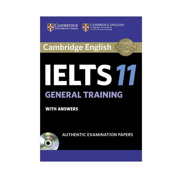 IELTS Cambridge 11 General +CD English IELTS Book