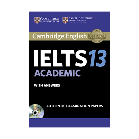 خرید کتاب IELTS Cambridge 13 Academic+CD