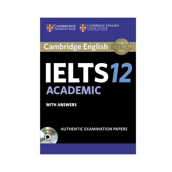 خرید کتاب IELTS Cambridge 12 Academic+CD