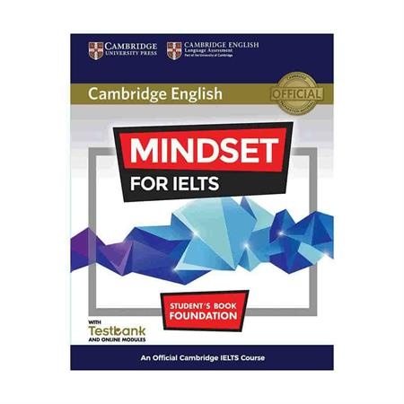 خرید کتاب Cambridge English Mindset For IELTS Foundation Student Book+CD
