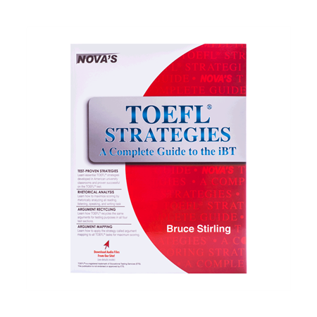خرید کتاب NOVA: TOEFL Strategies A Complete Guide to the iBT