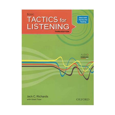 خرید کتاب Tactics for Listening 3rd Basic