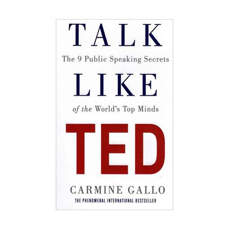 خرید کتاب Talk Like TED