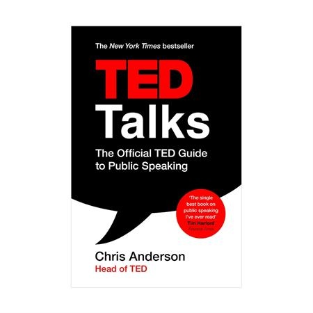 خرید کتاب TED Talks: The Official TED Guide to Public Speaking