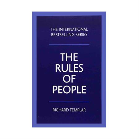 خرید کتاب The Rules Of People