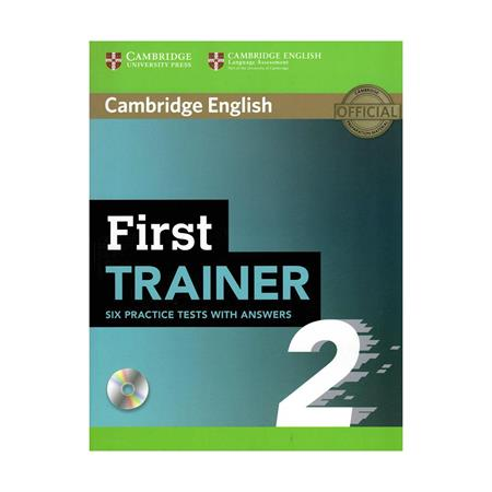 خرید کتاب First Trainer 2 Six Practice Tests without Answers with Audio
