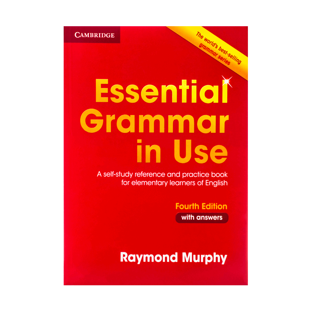 Grammar In Use Essential 4th (with answers) english grammar book