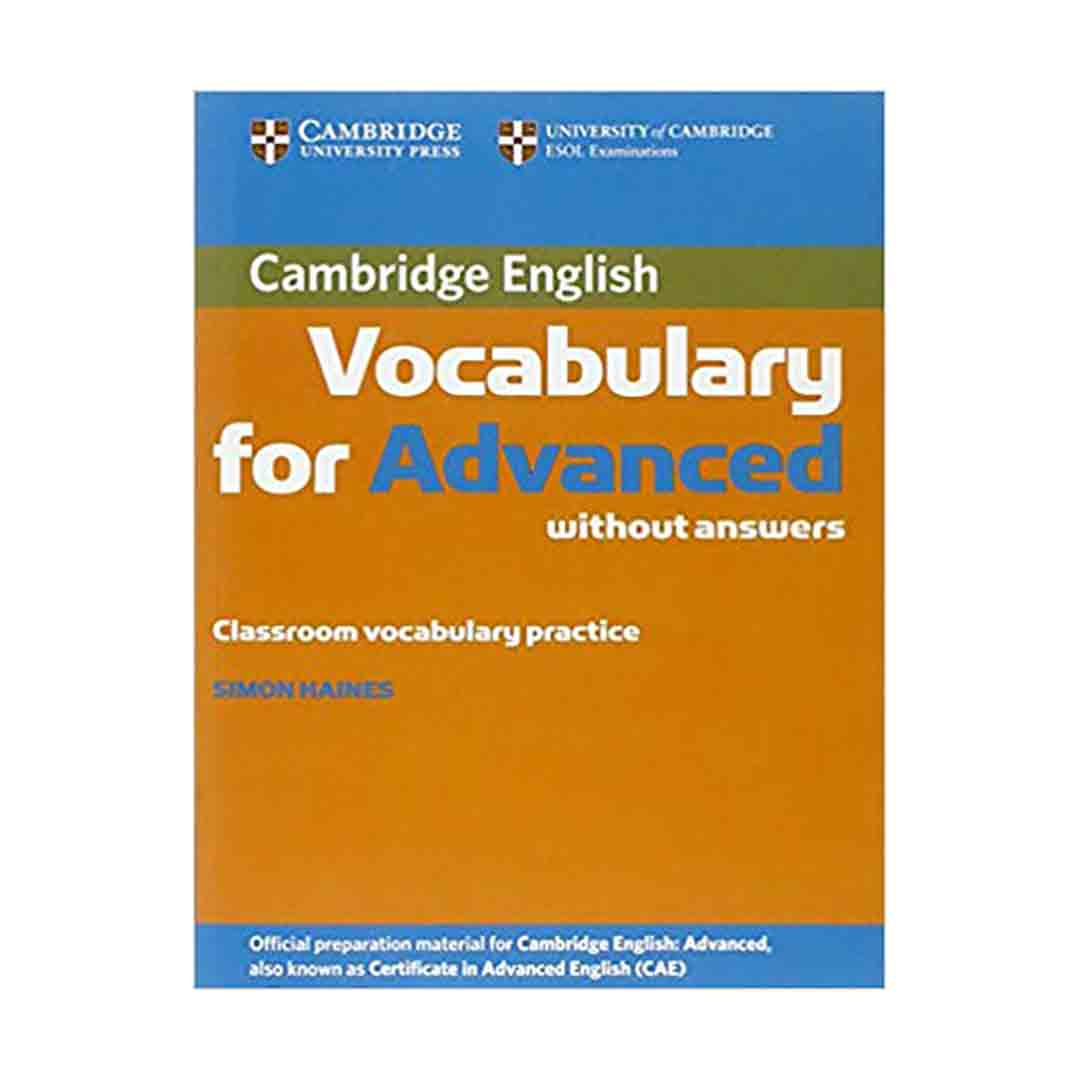 خرید کتاب Cambridge Vocabulary for Advanced (Simon Hains)+CD