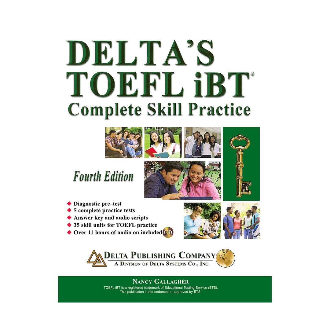 Deltas Key to the TOEFL iBT Advanced Skill Practice English Book