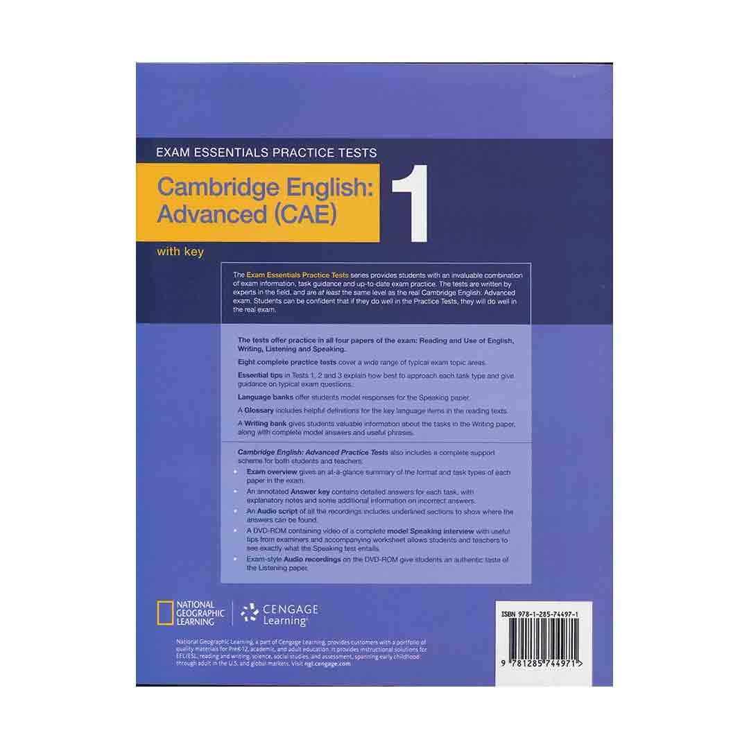Exam Essentials Practice Tests Advanced (CAE) 1 English Book
