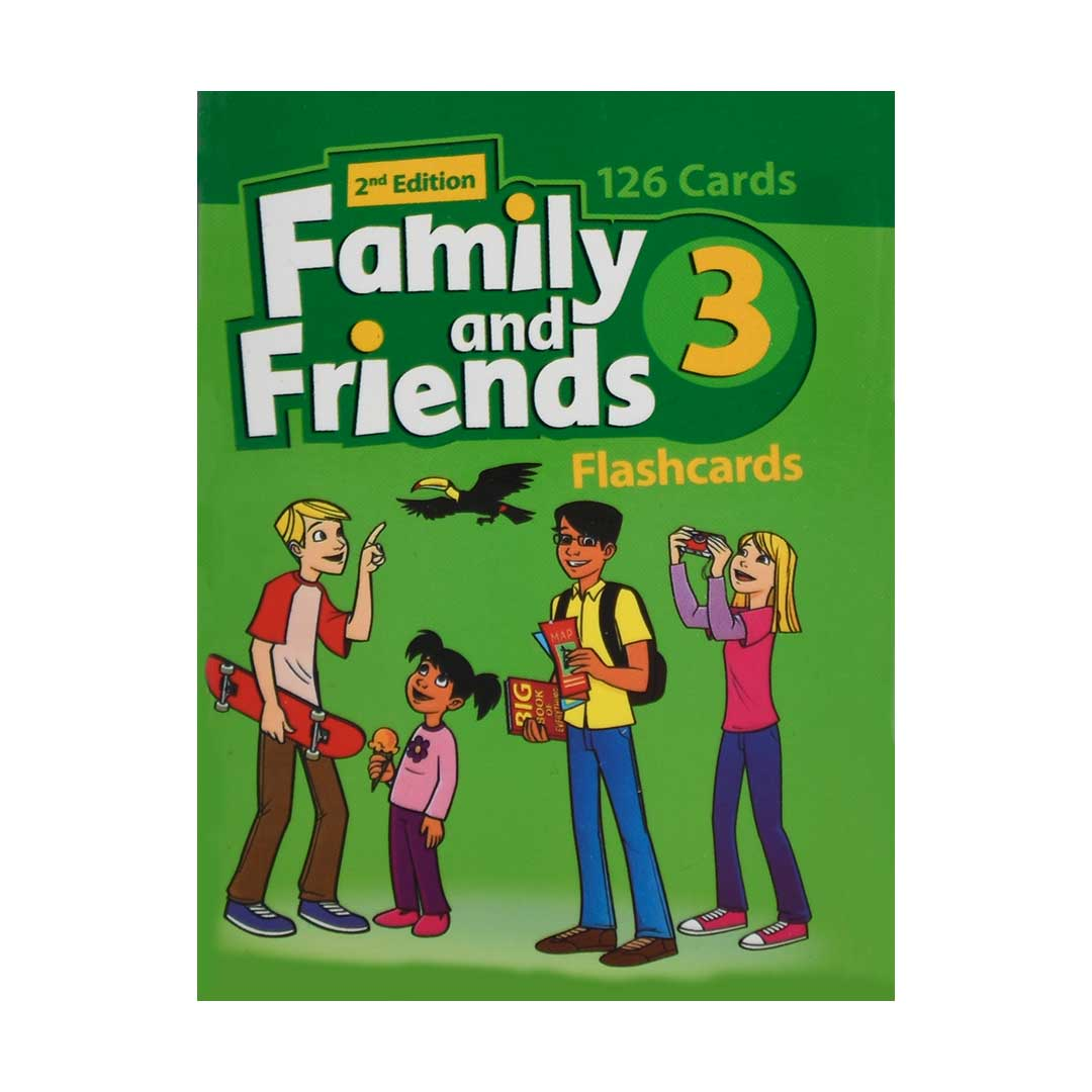 | Flash Cards Family and Friends 32nd