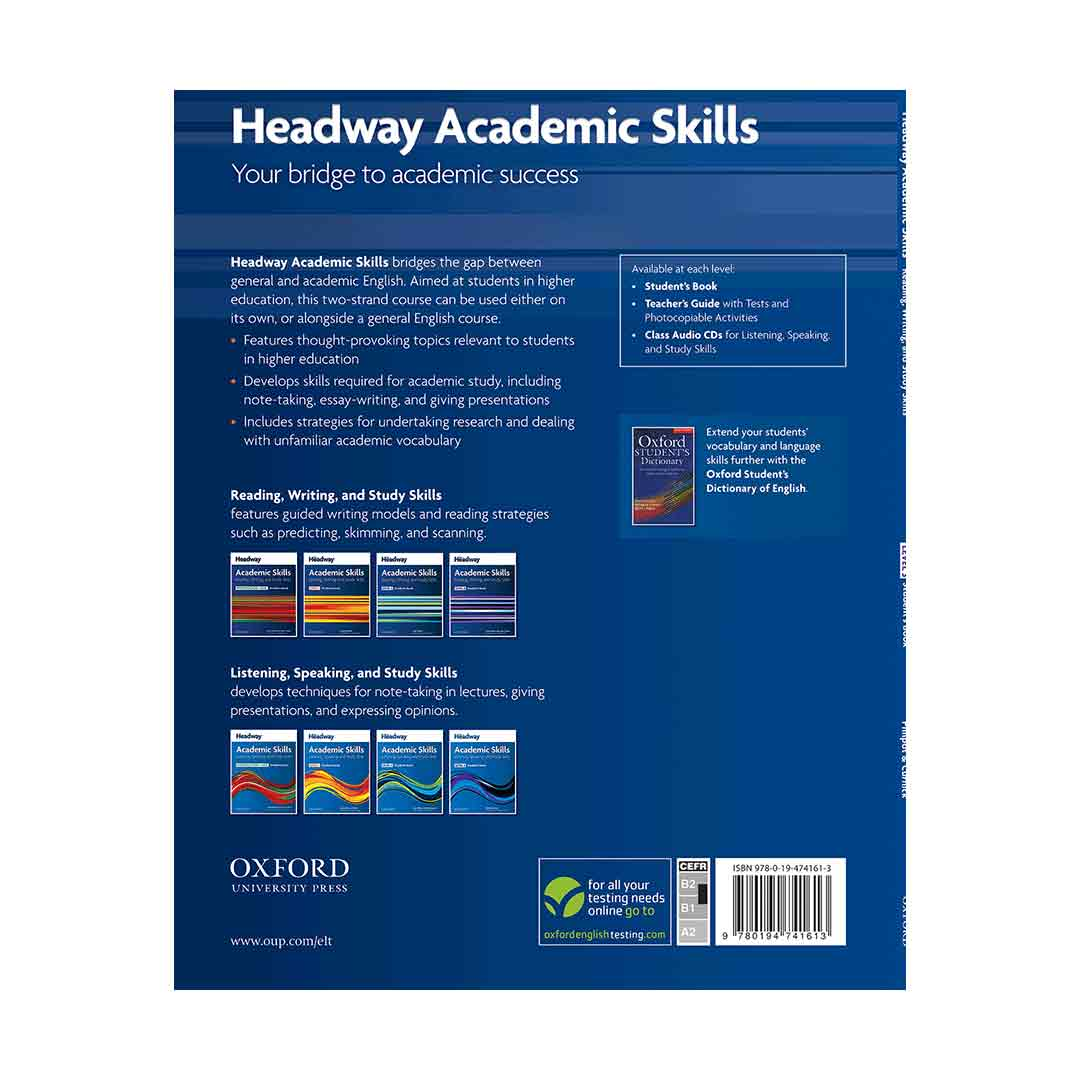 Headway Academic Skills 3 Reading and Writing Skill Book