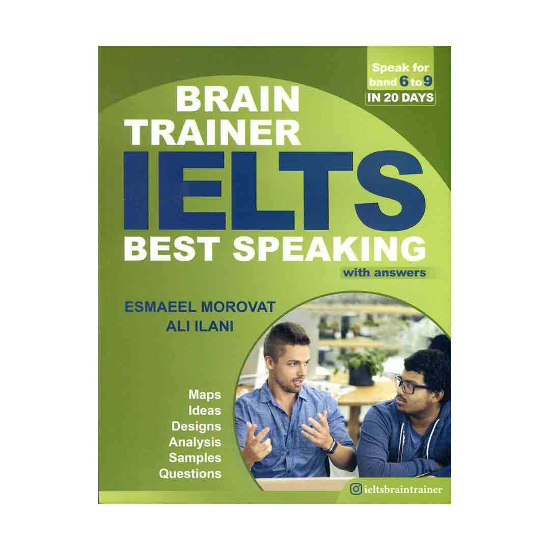 خرید کتاب IELTS Best Speaking Brain Trainer - with answer