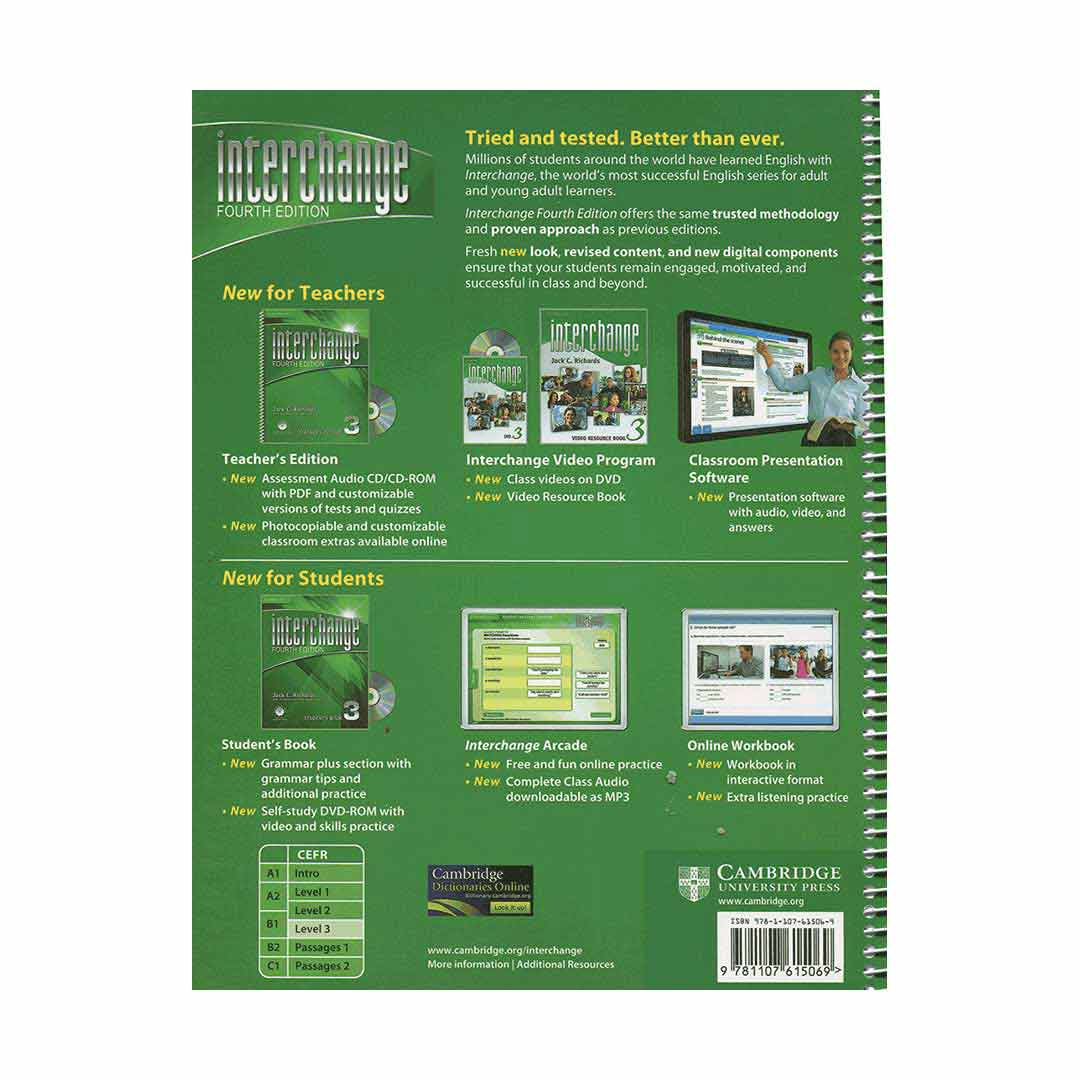 Interchange 4th 3 Teachers book English Language Learning Book for