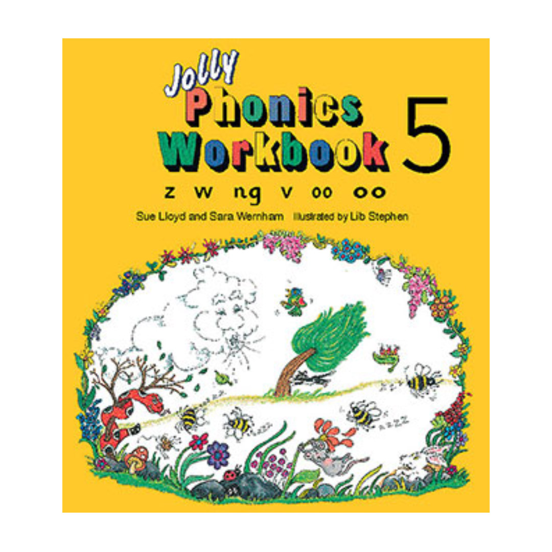 خرید کتاب Jolly Phonics 5 Workbooks