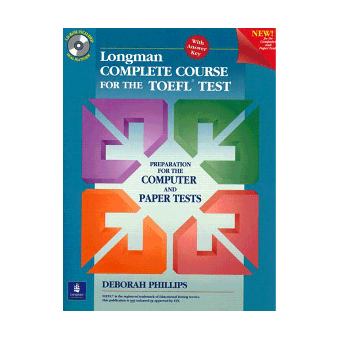 Longman Complete Course for the TOEFL Test Paper Test English Book