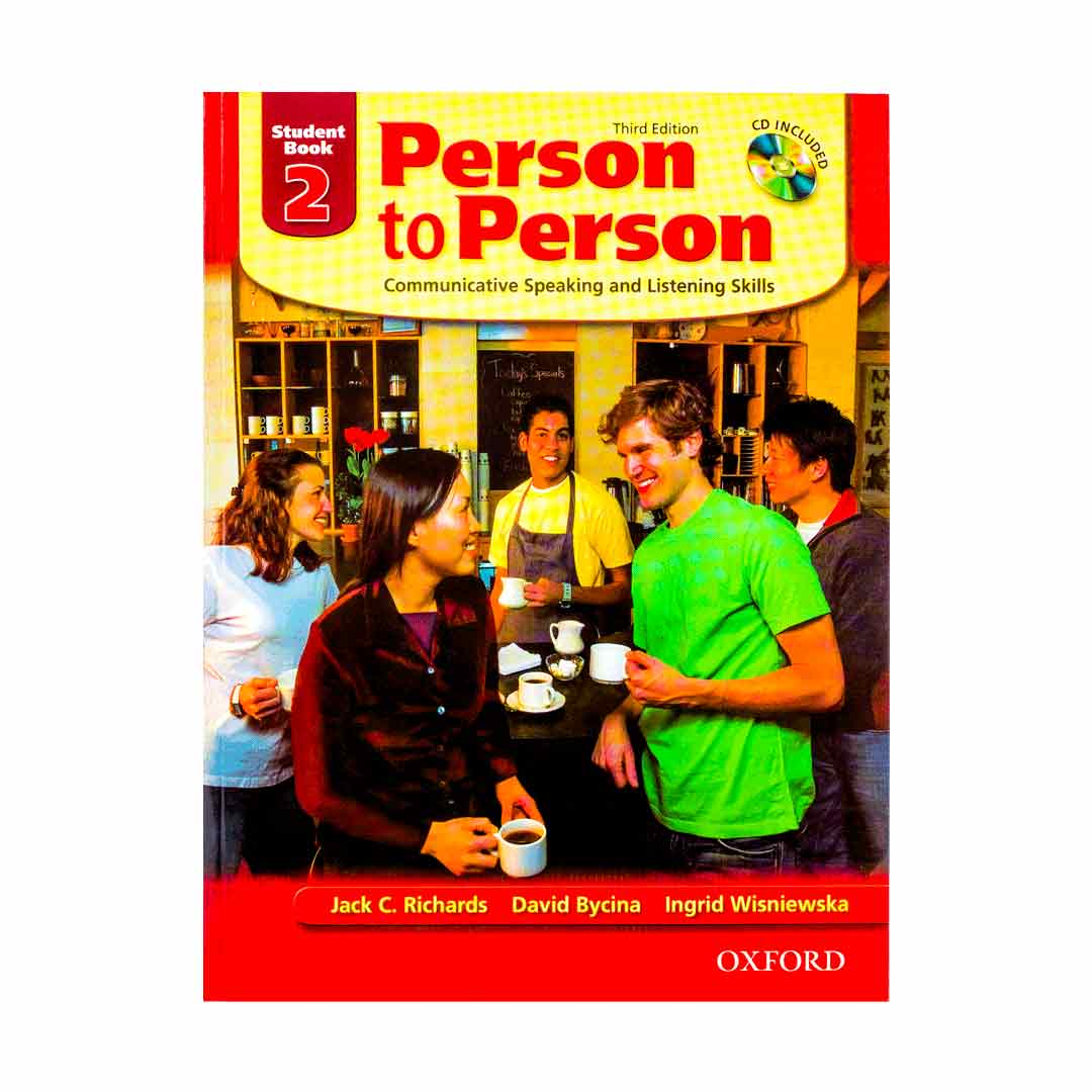 Person To Person Student Book 2