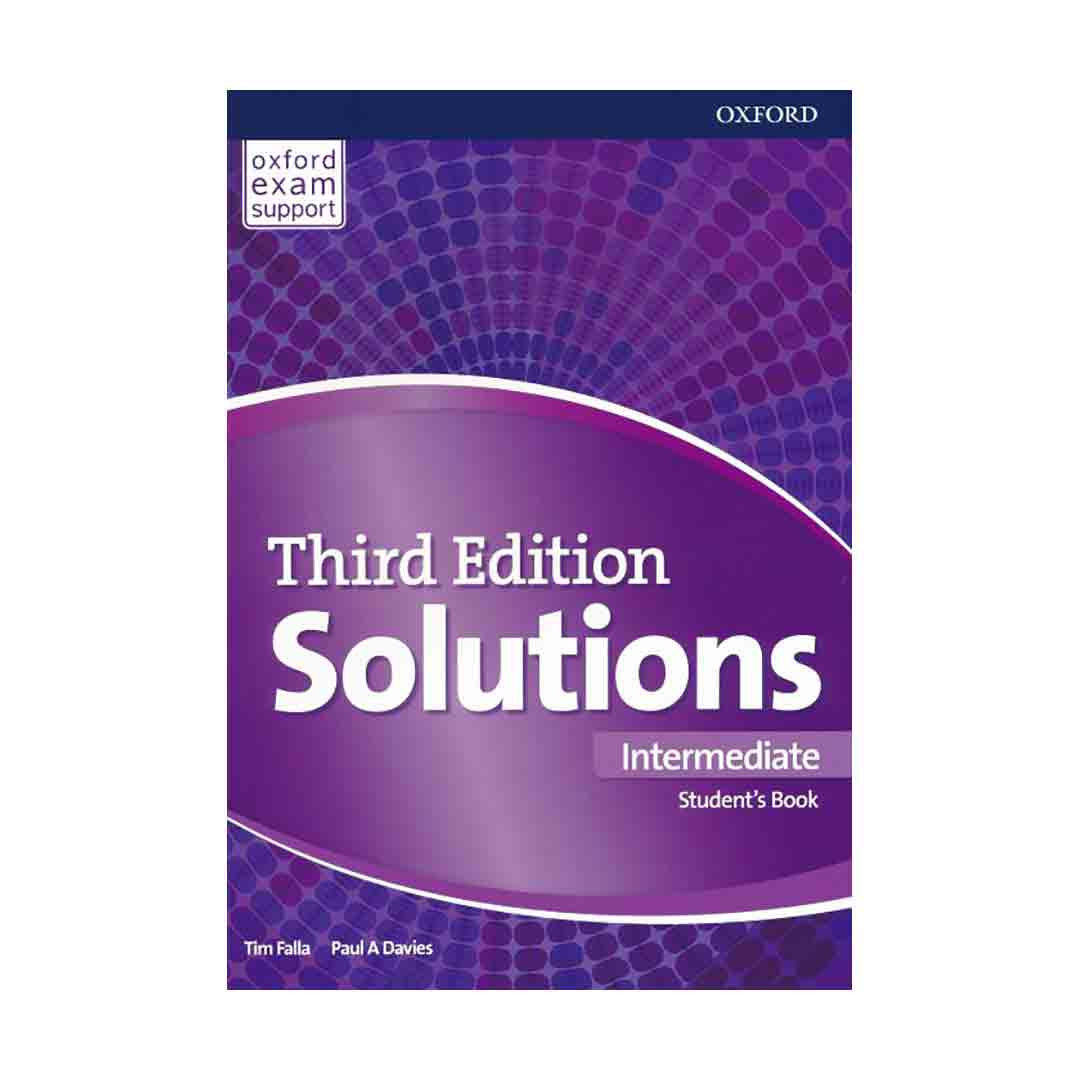 خرید کتاب Solutions 3rd Intermediate (SB+WB+DVD)