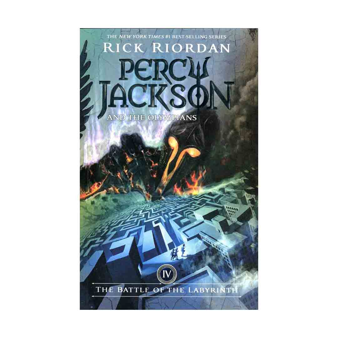 خرید رمان  The Battle of the Labyrinth (Percy Jackson and the Olympians 4)