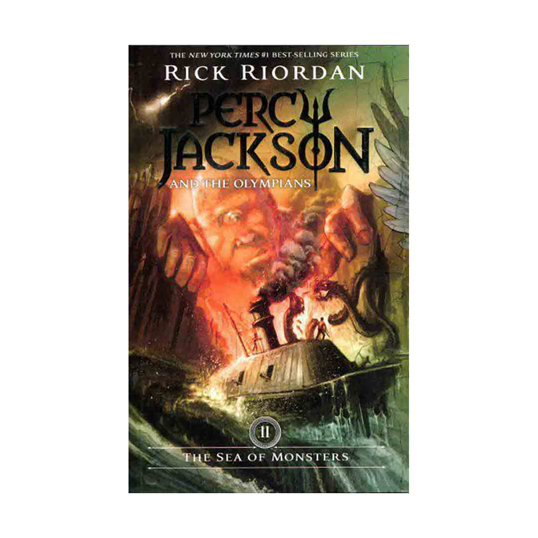 خرید رمان The Sea of Monsters (Percy Jackson and the Olympians 2)